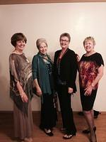 Donna F, Judy M, Patty V and Sharon H - some of the models